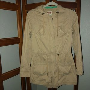 Mossimo Supply Co. Beige Jacket
